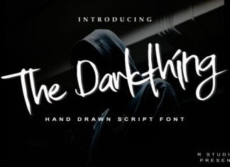The Darkthing Font