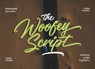 The Woofey Script Typeface