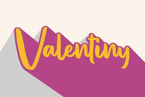 Valentiny [Font Duo]