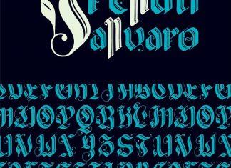 Valldemar Blackletter Font