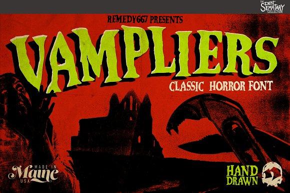 Vampliers Font