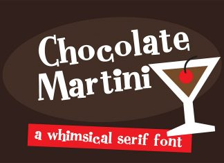 ZP Chocolate MartiniRegular Font