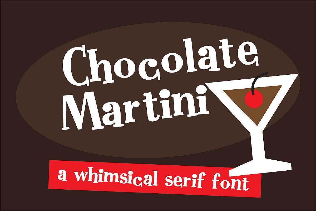 ZP Chocolate MartiniRegular Font