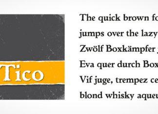 Tico Font Font