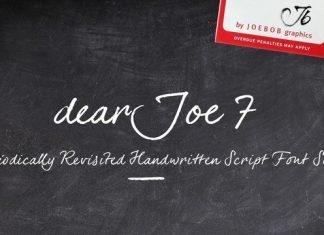 dearJoe 7 Font