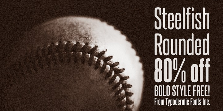 Steelfish Rounded Font Family