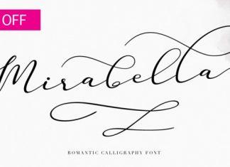 Mirabella Script Font