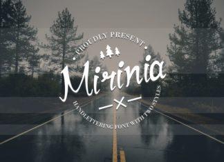Mirinia Script Font