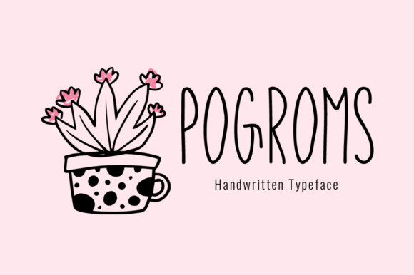 Pogroms Font