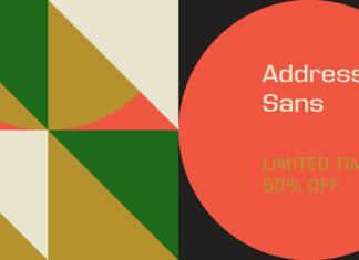 Address Sans Pro Font Family