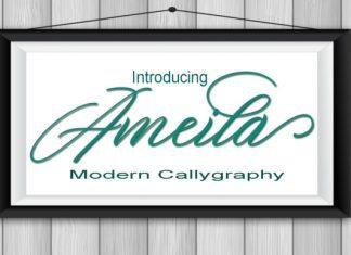 Ameila Script Font