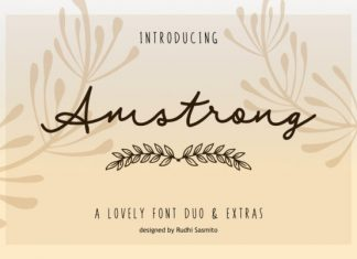 Amstrong Duo Font