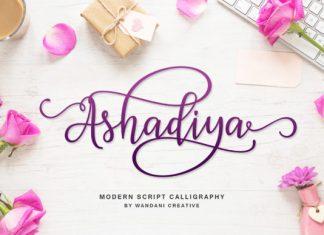 Ashadiya Font
