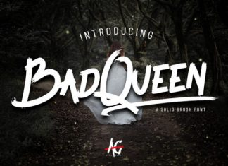 Bad Queen Font