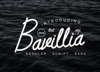 Bavillia Font