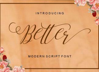 Better Script Font