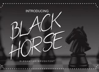 Black Horse Font