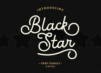 Black Star Font