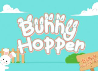 Bunny Hopper Other Font
