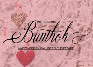 Bunthok Font