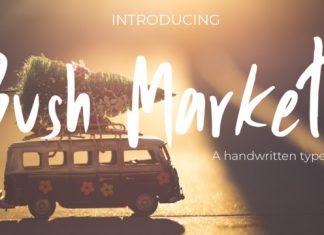 Bush Market Font