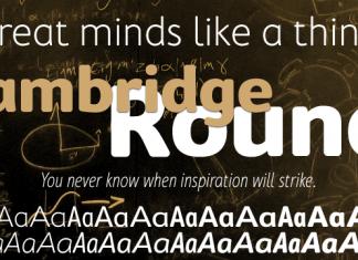 Cambridge Font Family