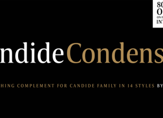 Candide Condensed Font Family