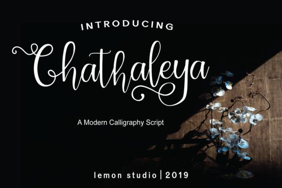 Chathaleya Font