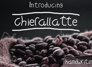 Chierallatte Font