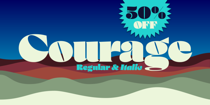 Courage Font Family