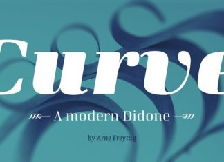 Curve Font Family