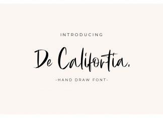 De Califortia Font