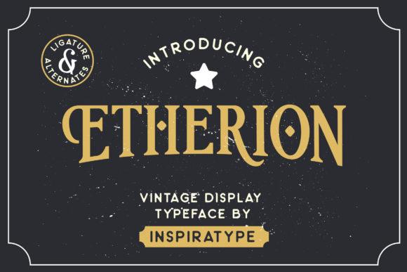 Etherion font