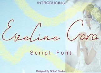 Eveline Cara Font