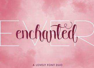 Ever Enchanted - A Font Duo Script Font