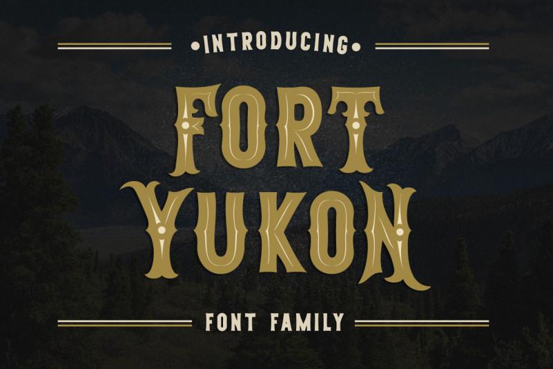 Fort Yukon Logo Font