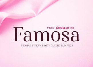 Famosa - Joyful Elegance Font