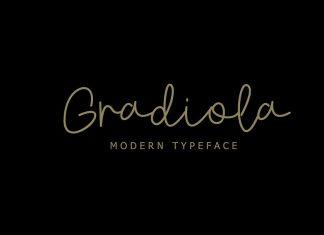 Gradiola Font
