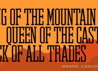 Grand Canyon RR Font Family