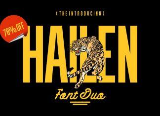 Hailen | Font Duo