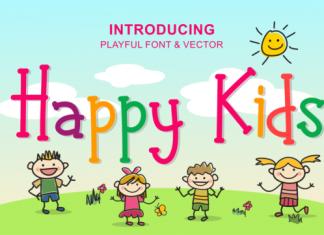 Happy Kids Font
