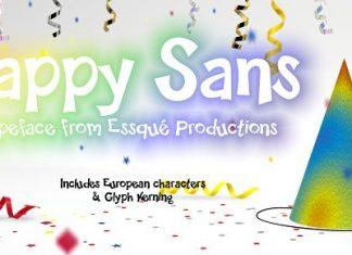 Happy Sans Font