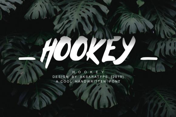 Hookey Font