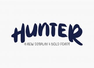 Hunter Typeface Other Font