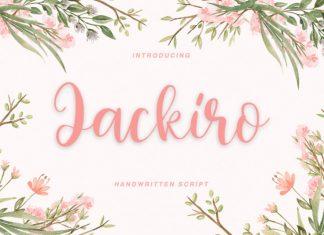 Jackiro - handwritten script