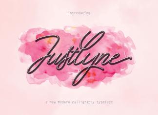 Justlyne Script Font