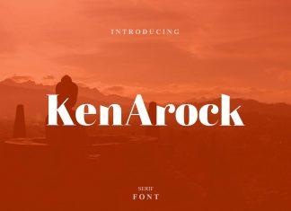 Kenarock - Serif Font