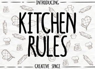 Kitchen RulesRegular Font
