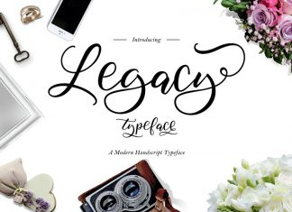 Legacy Typeface Font