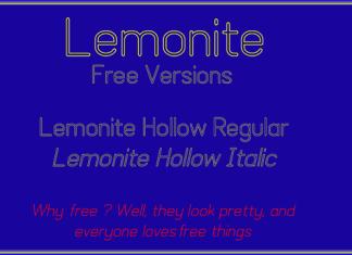 Lemonite Font Family